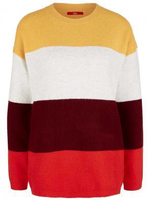 Brīva modeļa svītrains džemperis S. OLIVER