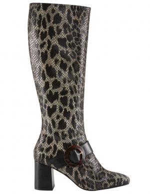 Leoparda raksta ādas zābaki HEINE