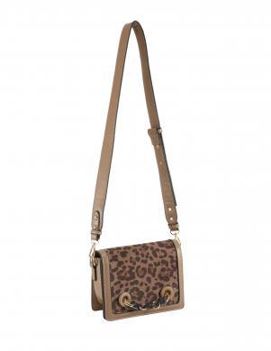 Stilīga ādas leoparda raksta soma HEINE