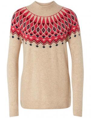 Stilīgs gaiši brūns sieviešu džemperis TOM TAILOR