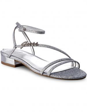 Stilīgas spīdīgas sieviešu sandales GUESS