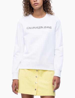 CALVIN KLEIN JEANS balts sieviešu džemperis