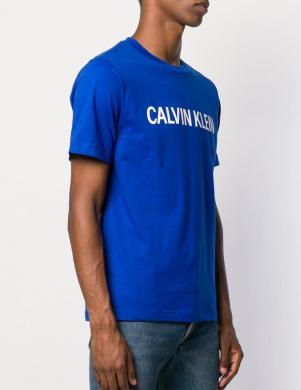 CALVIN KLEIN JEANS zila vīriešu blūze