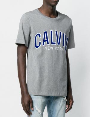 CALVIN KLEIN JEANS pelēks vīriešu krekls