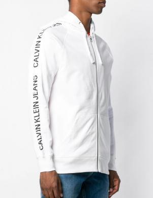 CALVIN KLEIN JEANS balts vīriešu džemperis