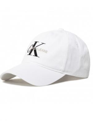 CALVIN KLEIN balta sieviešu cepure