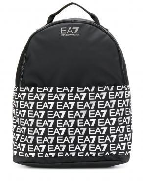 EA7 melna vīriešu mugursoma