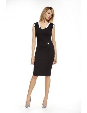 ENNYWEAR  melna eleganta kleita