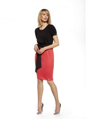 ENNYWEAR  melna sarkana eleganta kleita