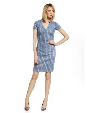 ENNYWEAR  gaiši zila eleganta kleita