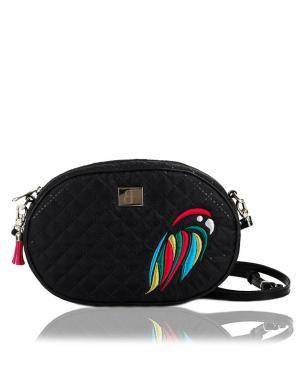 FARBOTKA maza melnas krāsas sieviešu soma