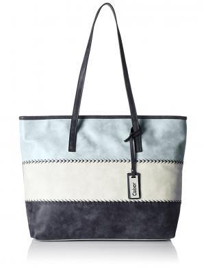 GABOR sieviešu zilas/baltas krāsas soma TURIN