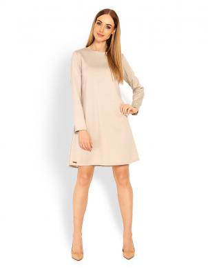 PEEKABOO krēmīga sieviešu kleita