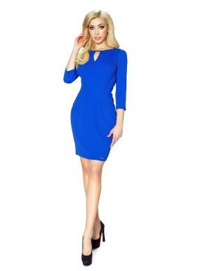 BERGAMO sieviešu zilas krāsas kleita