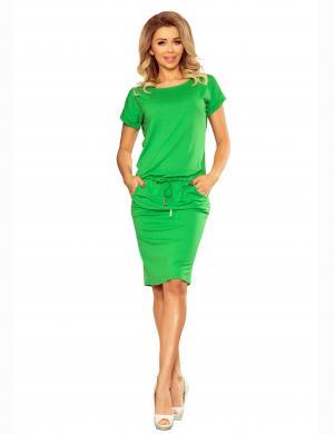 NUMOCO zaļa skaista kleita