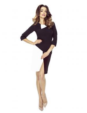 BERGAMO melnas/baltas krāsas sieviešu kleita