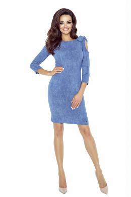 BERGAMO zila kleita
