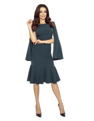 BERGAMO sieviešu zaļas krāsas kleita