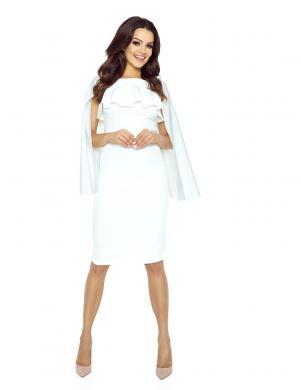 BERGAMO sieviešu baltas krāsas kleita