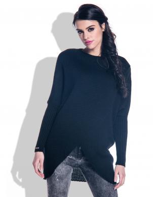 FOBYA melns sieviešu džemperis
