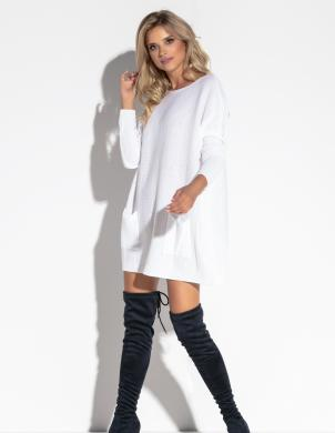 FOBYA balta sieviešu tunika
