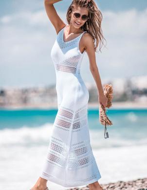 FOBYA balta skaista kleita