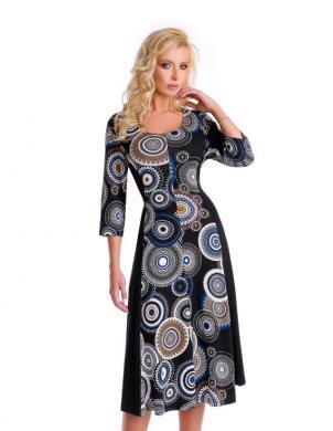 NATALEE krāsaina sieviešu kleita