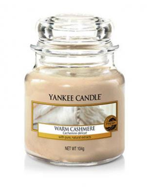 YANKEE CANDLE aromātiskā svece WARM CASHMERE 104 g