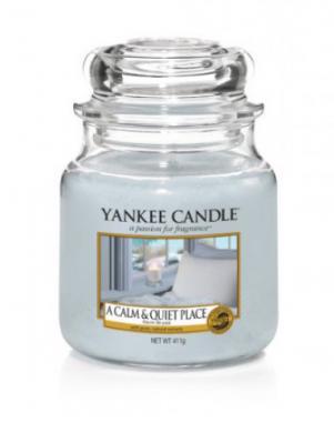 YANKEE CANDLE aromātiskā svece A CALM & QUIT PLACE 104 g