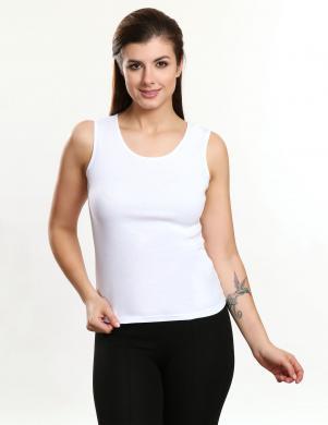 VIOLANA balts kokvilnas sieviešu krekls EDYTA