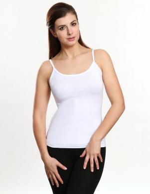 VIOLANA balts sieviešu krekls ar lencītēm NADIA