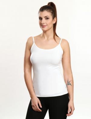 VIOLANA krēmīgas krāsas sieviešu krekls ar lencītēm NADIA