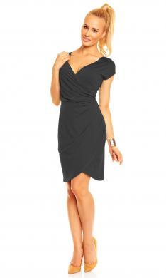 LENTAL melna kleita Carla