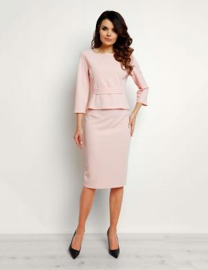 INFINITE YOU rozā krāsas zīmuļveida svārki M090