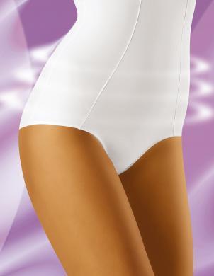 WOLBAR formējošās sieviešu baltas krāsas biksītes ar augstu vidukli