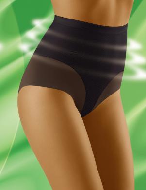 WOLBAR melnas krāsas sieviešu biksītes ar augstu vidukli