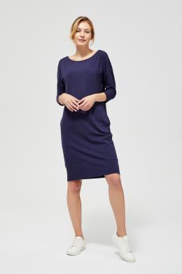 MOODO tumši zila  kleita