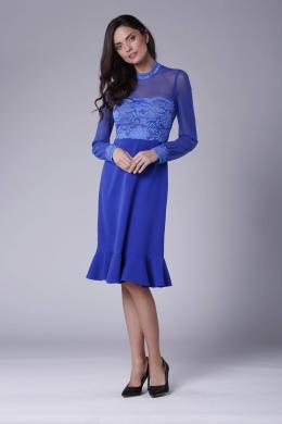 COLOUR MIST zila kleita