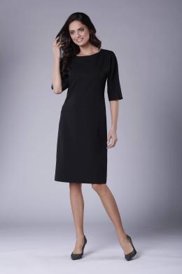 COLOUR MIST melna kleita