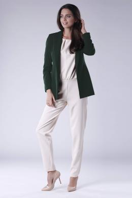 COLOUR MIST zaļa sieviešu jaka