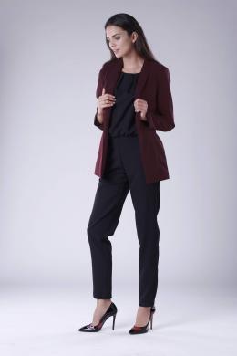 COLOUR MIST tumši sarkana sieviešu jaka