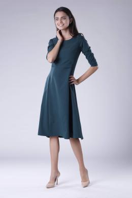 COLOUR MIST zaļa kleita