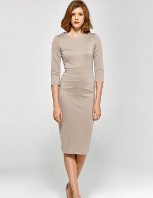 COLETT krēmīga sieviešu kleita
