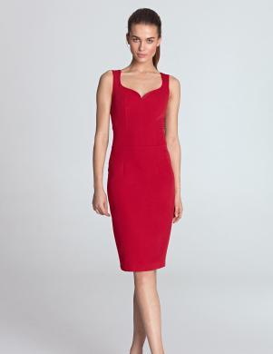 NIFE sarkana skaista kleita