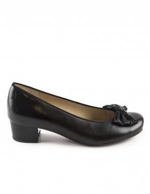 Sieviešu melni klasiski augstpapēžu apavi ARA