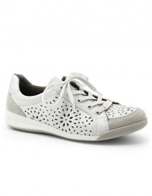 Sieviešu baltas krāsas perforētas kurpes ARA