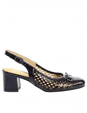 Sieviešu tumši zili lakoti augstpapēžu apavi ARA