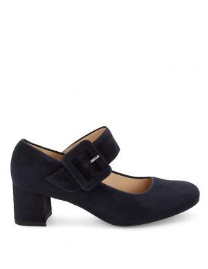Sieviešu zili zamšas augstpapēžu apavi ARA