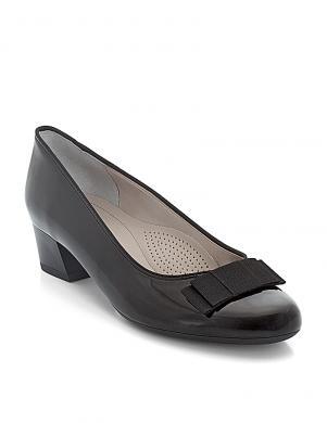 Sieviešu melni eleganti augstpapēžu apavi ARA
