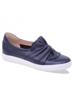 Sieviešu tumši zili ādas brīva laika apavi CAPRICE
